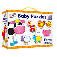 Galt <b>Toys</b> New <b>Baby</b> Puzzles <b>Farm</b>: Amazon.co.uk: <b>Toys</b> & Games