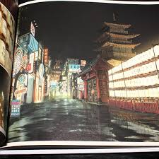 tekkon kinkreet black and white art book shiro side