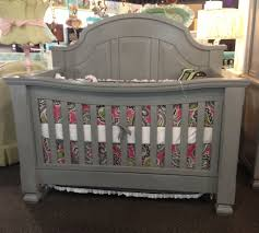 sweet inspiration grey crib and dresser set ideal nursery