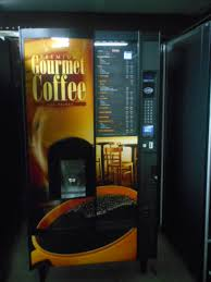 National Vendors Vending Machine Classy Crane 48 Hot Drink Center