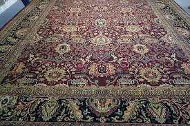 810 x 12 authentic fine india tabriz area rug wool hand hand knotted wool rugs made