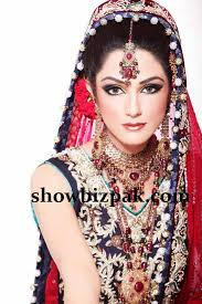 model bridal makeup by khawar riaz bride hd png