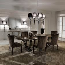 luxury dining room sets marble. exellent luxury luxury italian brown marble oval dining set intended room sets l