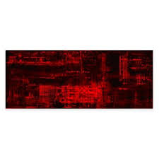 red metal wall art bed bath and beyond