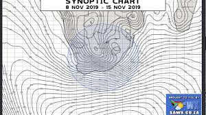 Synoptic Chart Synoptic Weather Map Chart For Southern Africa 8 To 15 November 2019