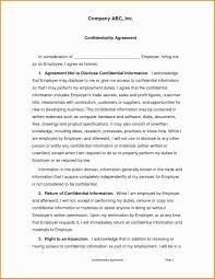 12 13 Statement Of Confidentiality Sample Jadegardenwi Com