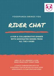 Chat Hubs Rider Chat Foodpanda Riders