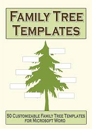 Family Tree Picture Template Amazon Com Family Tree Templates