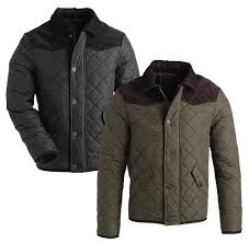 Brand New British-handmade Quilted Mens Jacket Coat (XX-LARGE ... & Brand New British-handmade Quilted Mens Jacket Coat (XX-LARGE,  OLIVE/BROWN): Amazon.co.uk: Clothing Adamdwight.com