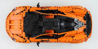 Moc Mclaren P1 Hypercar 1 8 Manual Rc W Instructions Lego Technic And Model Team Eurobricks Forums Lego Technic Lego Mclaren P1