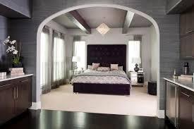 purple modern master bedroom. Purple Glam Master Bedroom Contemporary-bedroom Modern E