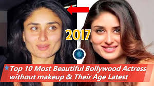 top 10 most beautiful bollywood actress without makeup 2017 latest