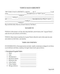 Selling Agreement Template