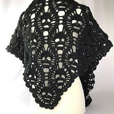 Skull Crochet Pattern Simple Crochet This SpineTingling Lost Souls Skull Shawl For Halloween