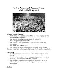 writing assignment research paper civil rights movement by  writing assignment research paper civil rights movement by linni0011 teaching resources tes