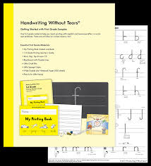 Letter Number Formation Charts Learning Without Tears
