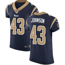 Rams Johnson - Official Nfl Los Jersey Angeles Authentic John