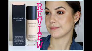bare minerals pro foundation on oily acne e sensitive skin review check ins