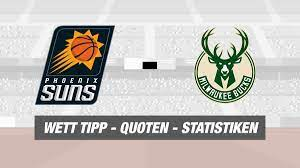 Phoenix Suns - Milwaukee Bucks Tipp, Prognose & Quoten