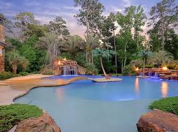 Huge Backyard Pool