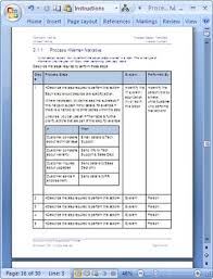 business process template business process document template business process design