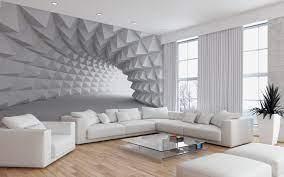 Modern 3d Wallpaper Murals For Living ...