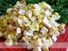 Салаты рецепты простые и вкусные ананас и грибы 102