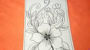 Awalnya, batik indonesia ini biasa dipakai untuk upacara adat dan acara. Cara Menggambar Batik Motif Bunga 32 Youtube