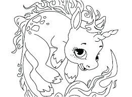 Cute Unicorn Coloring Pages Printable To Cartoon Network Characters