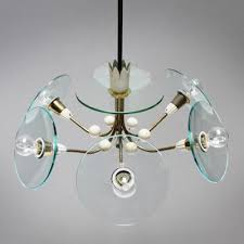 vintage chandelier by pietro chiesa for fontana arte 1