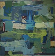 james o shea abstract painting birthday party contemporary abstract square painting on canvas