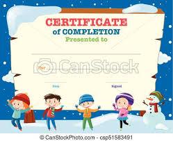 Kids Certificate Template Rome Fontanacountryinn Com