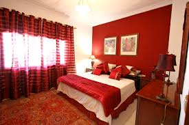 Bedroom:Stupendous Asian Themed Bedroom With Feng Shui Furniture Style And  Red Bedding Classic Red