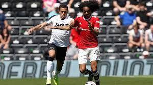 Derby 1-2 Manchester United RECAP: Chong and Pellistri goals seal  pre-season victory - Mirror Online