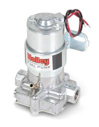 marine fuel pumps holley performance products 140 gph black® electric fuel pump