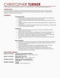 49 Awesome Customer Service Representative Resume Sample Examples Of