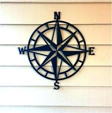 unique outdoor wall art hanging decor pass nautical metal canada