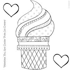 waffle cone coloring page. Brilliant Page Classroom  Intended Waffle Cone Coloring Page R