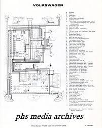 tech files series 1965, 1968 volkswagen type 1 & convertible Vw Type 1 Wiring Diagram the volkswagen 1500 sedan and convertible chassis wiring chart note 1968 date 1967 vw type 1 wiring diagram
