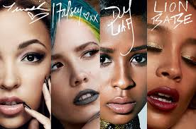 Halsey Tinashe Lion Babe And Dej Loaf To Front M A C