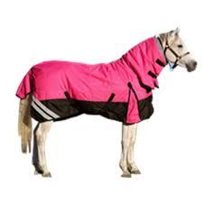 1200 denier rainsheet waterproof combo horse rug pink black loading zoom