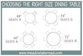 6 person round dining table size sizes and seating capacity metric superb 8 dimensions ta seater height