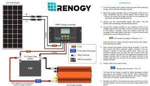 renogy solar diagram that i followed
