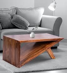 vanowen coffee table in walnut finish