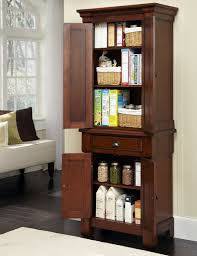traditional kitchens space design with espresso stained freestanding pantry on 76 inch aspen kitchen