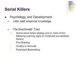 psychological explanations of criminal behaviour ppt video 33 serial killers psychology and development
