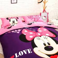 Minnie Mouse Bedroom Set Minnie Mouse Sheets Full Size ...