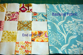 One Way to Back a Quilt: Pieced Quilt Backing & My finished quilt ... Adamdwight.com