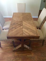 Handmade 100% wood farm house table that can be used as a small dinning  table