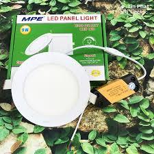 Đèn Led Panel Âm Trần Tròn Nổi MPE Series RPL 6W 9W 12W 15W 18W 24W Ánh  Sáng Trắng/ Vàng/ 3 Màu - Bảo hành 24T chính hãng 105,000đ